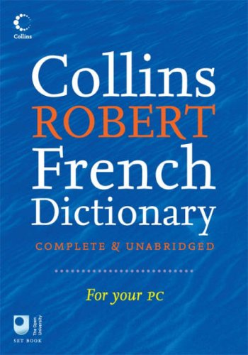 9780007224333: Collins Robert French Dictionary (French Edition)