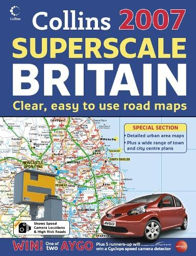9780007225019: 2007 Collins Superscale Road Atlas Britain: Superscale Britain