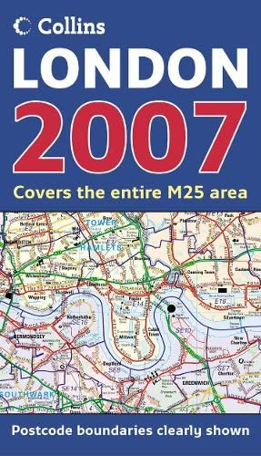 9780007225057: Map of London 2007