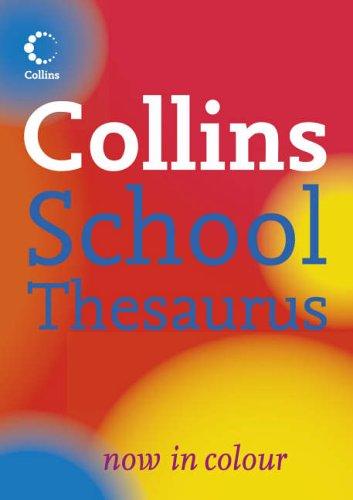 9780007225316: Collins School Thesaurus (Collins School)
