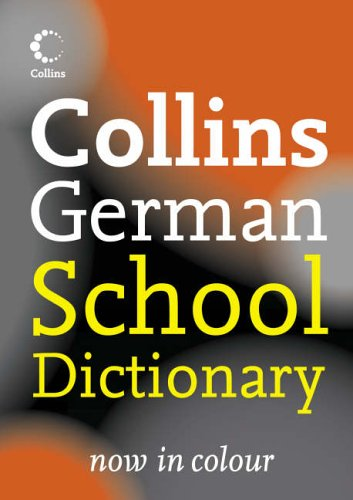 9780007225330: Collins German School Dictionary (Collins School)