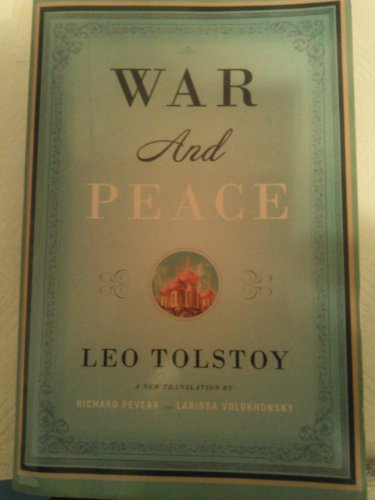 9780007225354: War And Peace