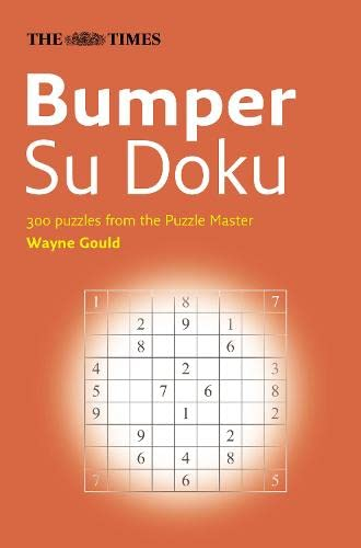 9780007225842: The Times Bumper Su Doku