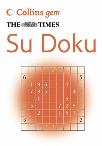 9780007225880: The Times Su Doku (Collins Gem)