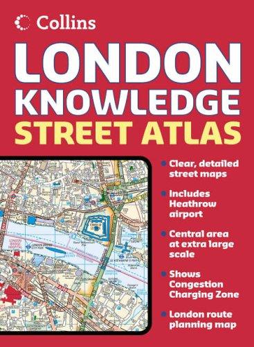 9780007225903: London Knowledge Atlas (Street Atlas)
