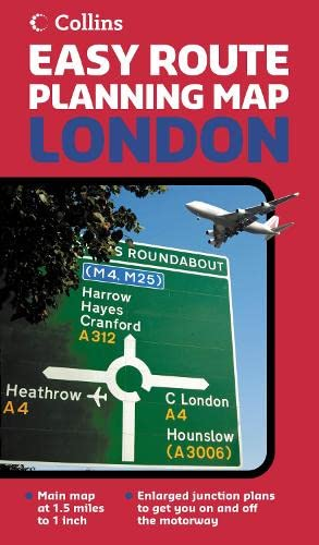 9780007225910: London (Easy Route Planning Map)
