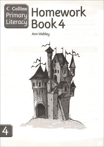 9780007227174: Collins Primary Literacy - Homework Book 4: Homework Book Bk. 4