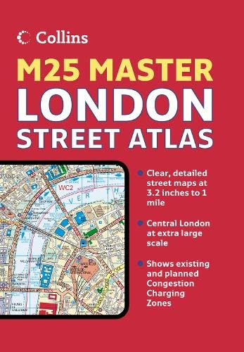 9780007227495: London M25 Master Street Atlas