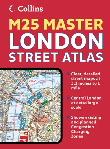 9780007227501: London M25 Master Street Atlas (Collins Travel Guides)