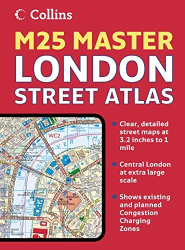 9780007227501: Collins London M25 Master Street Atlas (Collins Travel Guides)