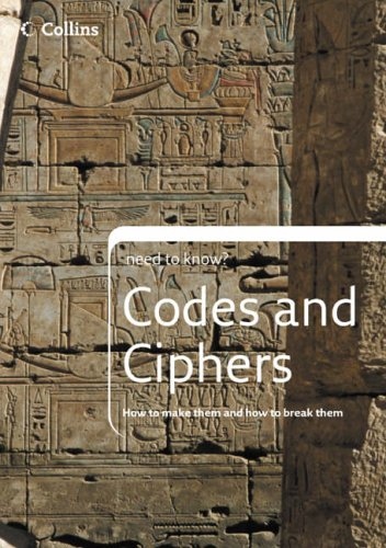 9780007228034: Codes and Ciphers (Collins Need to Know?)