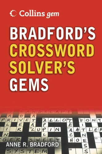 9780007228317: Bradford's Crossword Solver's Dictionary (Collins GEM)