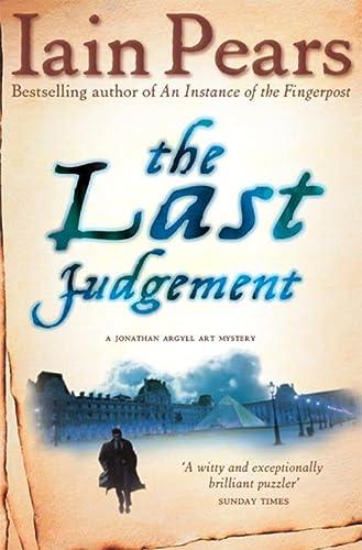 9780007229208: The Last Judgement