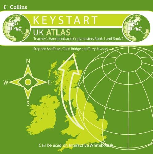Collins Keystart UK Atlas: Teacher's Handbook and Copymasters Bk. 1 & 2 (9780007229383) by [???]