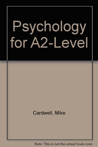 9780007229512: Psychology for A2-Level