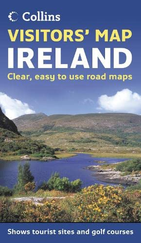 9780007229840: Visitors' Map Ireland