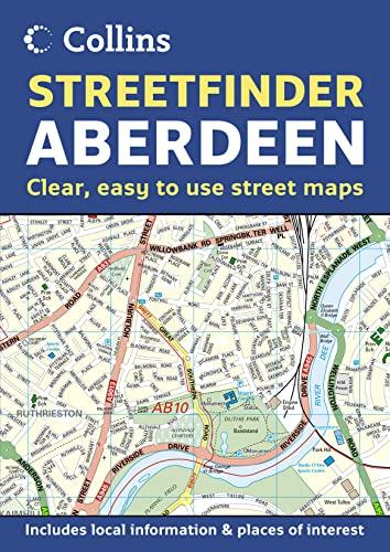 9780007229871: Aberdeen Streetfinder Atlas (Collins Streetfinder)