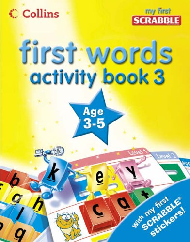 9780007230280: First Words - Activity Book 3 (My First Scrabble)