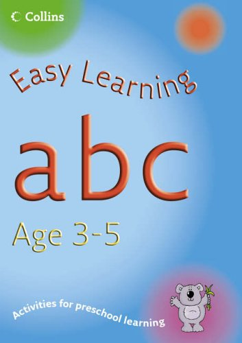 9780007230303: ABC Age 3-5 (Easy Learning)
