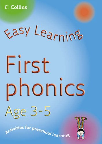 9780007230310: First Phonics Age 3-5 (Easy Learning)