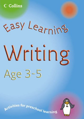 9780007230334: Writing Age 3-5 (Easy Learning)