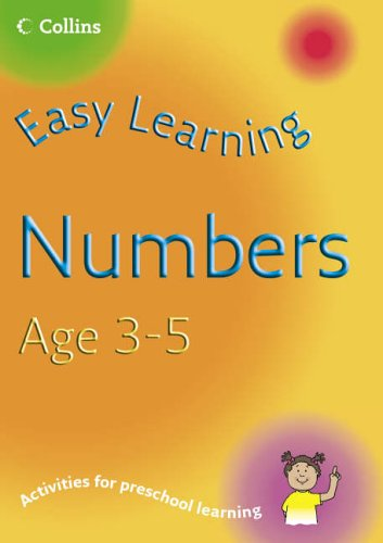 9780007230341: Easy Learning – Numbers Age 3–5
