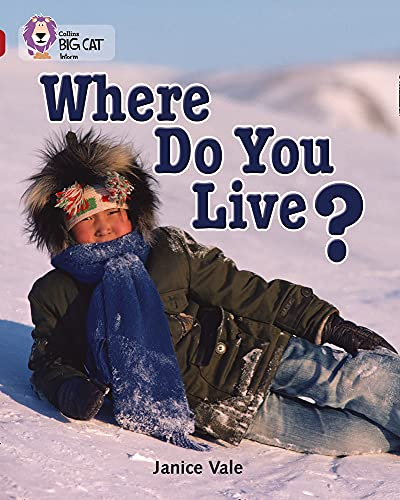 9780007230983: Where Do You Live? (Collins Big Cat) (Bk. 24)
