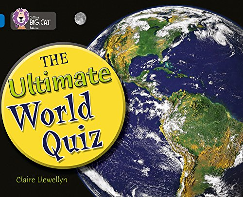 9780007231003: Collins Big Cat - The Ultimate World Quiz: Band 16/Sapphire