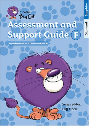 9780007231126: Collins Big Cat Teacher Support - Assessment and Support Guide F: Bands 16-17