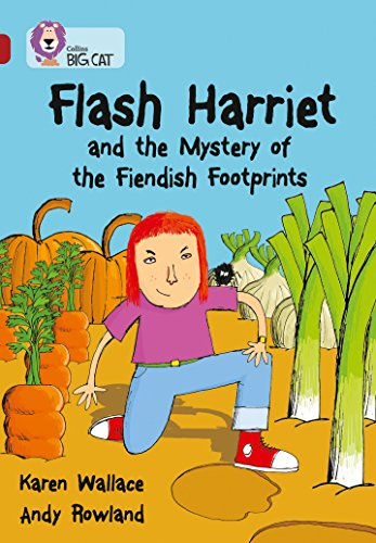9780007231218: Flash Harriet and the Mystery of the Fiendish Footprints (Collins Big Cat) (Bk. 5)
