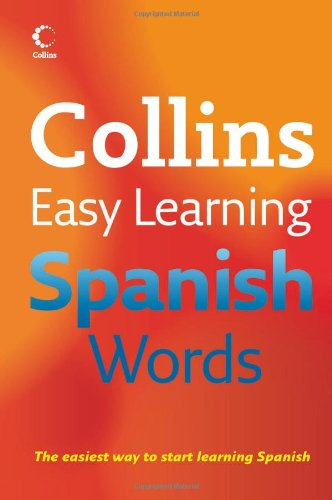 9780007231560: Easy Learning Spanish Words (Collins Easy Learning Spanish)