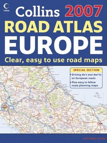 9780007231713: International Road Atlases - 2007 Collins Road Atlas Europe