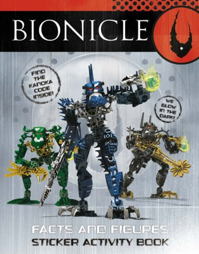 9780007231850: BIONICLE - Facts and Figures Sticker Activity Book