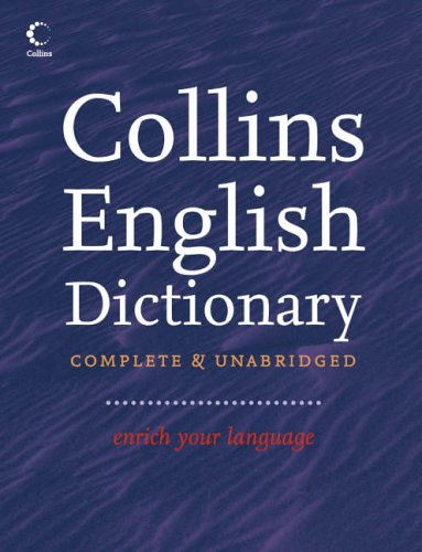 9780007232307: Collins English Dictionary