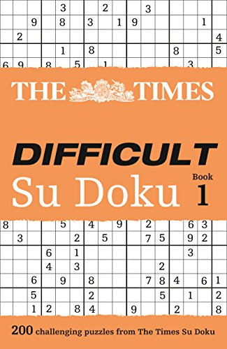 9780007232529: The Times Difficult Su Doku