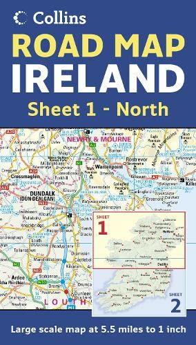 9780007232901: Ireland Road Map: Sheet 1 - North: North Sheet 1