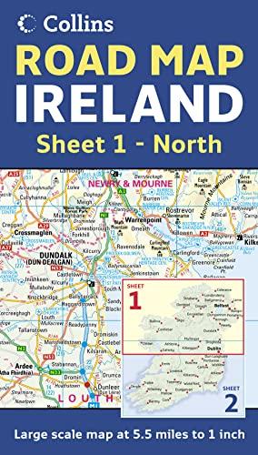 9780007232901: Ireland Road Map: North Sheet 1