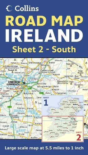 9780007232918: Ireland Road Map: Sheet 2 - South: South Sheet 2