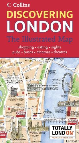 9780007232949: Discovering London: The Illustrated Map