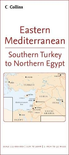9780007233120: Eastern Mediterranean 1:2,000,000 Travel Map (Reference Map)
