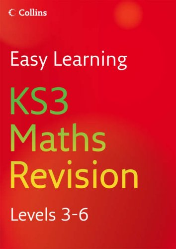 9780007233496: KS3 Maths: Revision Levels 3-6 (Easy Learning)
