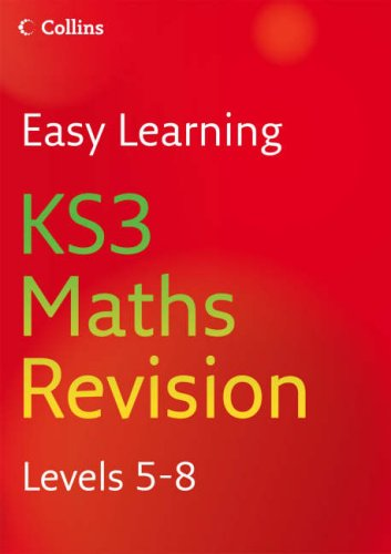 9780007233502: KS3 Maths: Revision Levels 5-8 (Easy Learning)