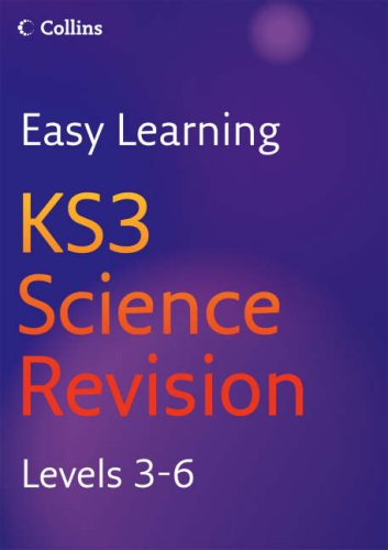 9780007233519: Easy Learning - KS3 Science Revision 3-6: Revision Levels 3-6
