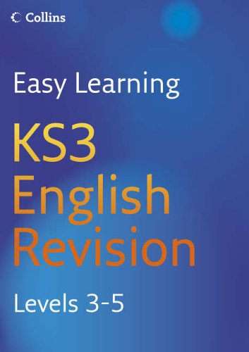 9780007233533: Easy Learning - KS3 English Revision 3-5: Revision Levels 3-5