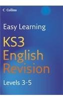9780007233533: KS3 English: Revision Levels 3-5 (Easy Learning)