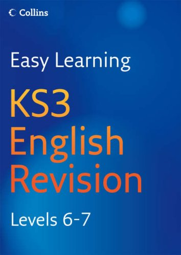9780007233540: Easy Learning - KS3 English Revision 6-7: Revision Levels 6-7