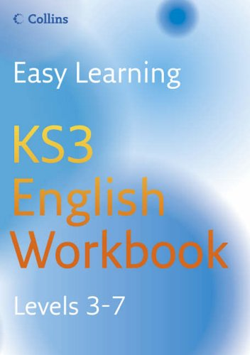 9780007233595: Easy Learning - KS3 English Workbook 3-7: Workbook Levels 3-7