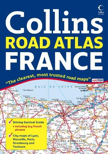 9780007233786: Collins Road Atlas France (International Road Atlases) (English and French Edition)