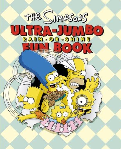 9780007234134: The Simpsons Ultra-Jumbo Rain-Or-Shine Fun Book