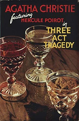 9780007234417: Three Act Tragedy